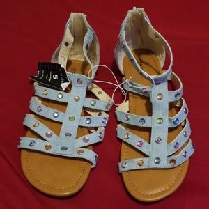 Stevie's caged sandals